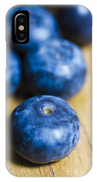 Blue Berry iPhone Case - Blueberry Macro by Jorgo Photography - Wall Art Gallery