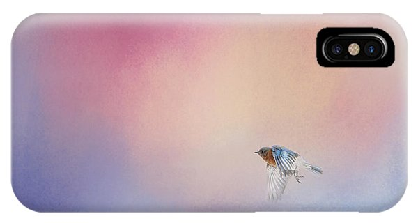 Bluebird 1 - I Wish I Could Fly Series IPhone Case
