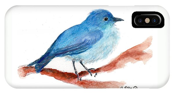 Bluebird IPhone Case