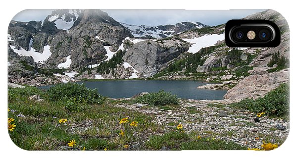 Bluebird Lake - Colorado IPhone Case