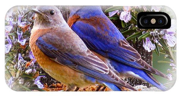 Bluebird Wedding IPhone Case