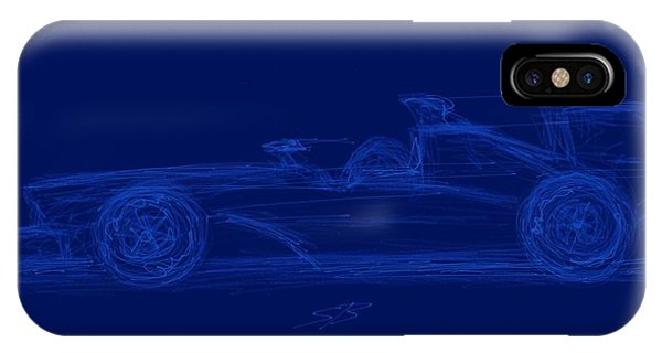 Blueprint For Speed IPhone Case
