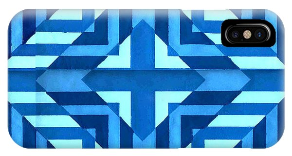 Bluer Than Blue IPhone Case by Dave Atkins