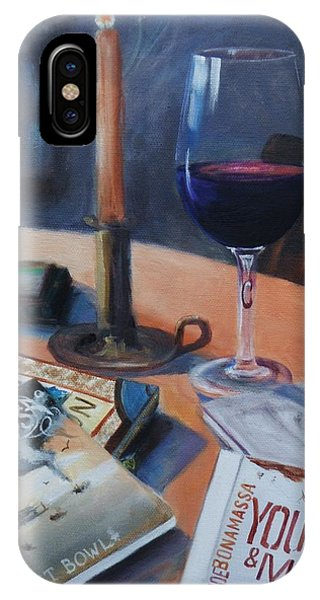Blues And Wine IPhone Case