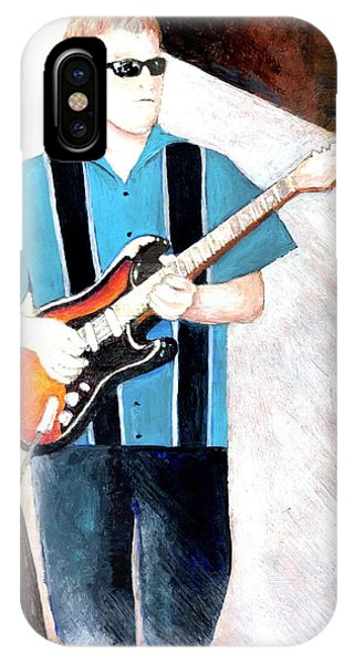 Blues Guitarist Tony Fazio IPhone Case