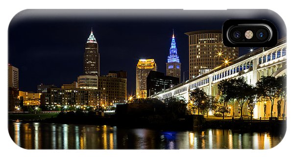 Blues In Cleveland Ohio IPhone Case
