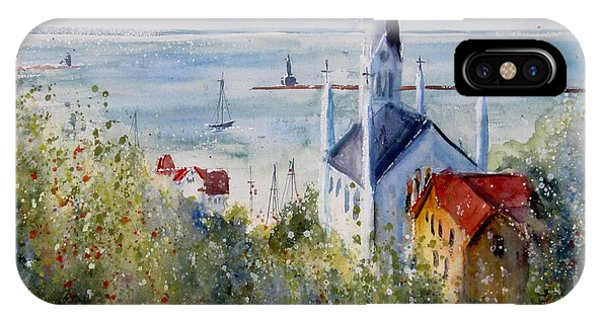 Bluff View St. Annes Mackinac Island IPhone Case
