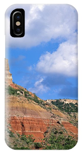 Bluffs In The Glass Mountains IPhone Case