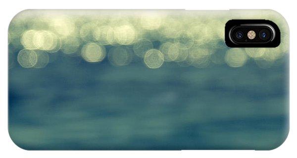 Beach iPhone X / XS Case - Blurred Light by Stelios Kleanthous