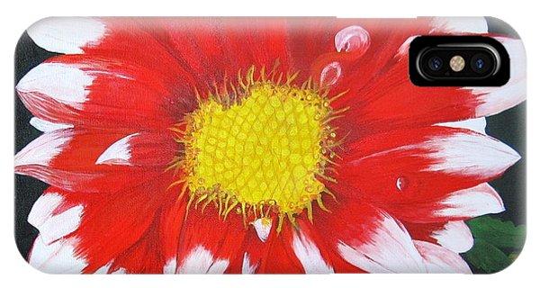 Blushing Dahlia IPhone Case