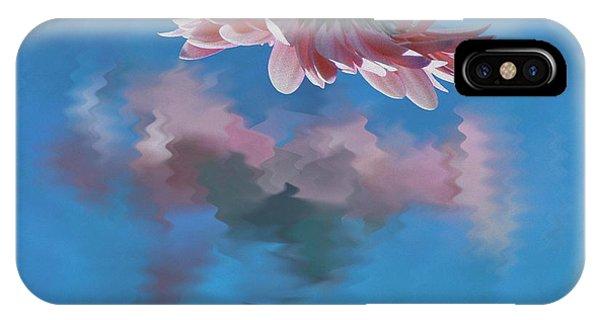 Blushing Pink Bloom IPhone Case