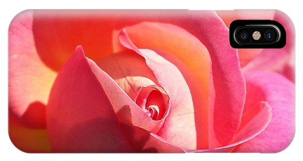 Blushing Rose IPhone Case