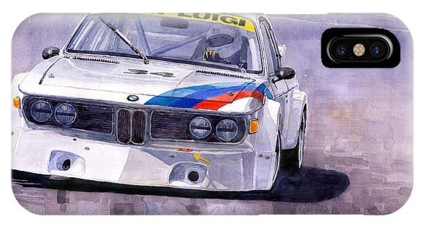 Car iPhone X Case - Bmw 3 0 Csl 1972 1975 by Yuriy Shevchuk