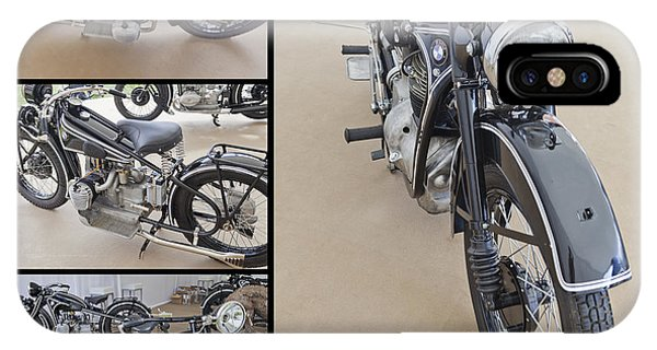 Bmw Art Deco Bikes IPhone Case