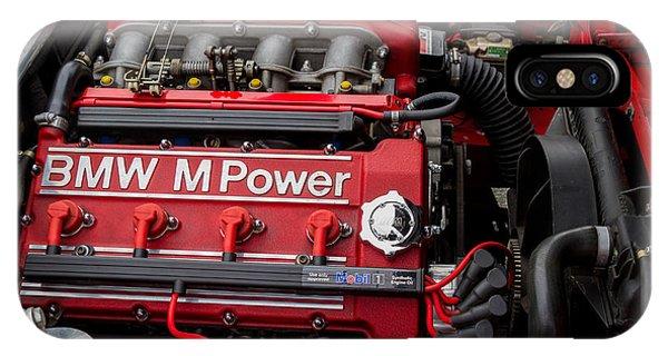 Bmw M Power Engine IPhone Case