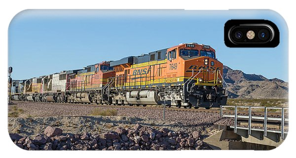 Bnsf 7649 IPhone Case