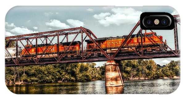 Bnsf Over The Meramec IPhone Case