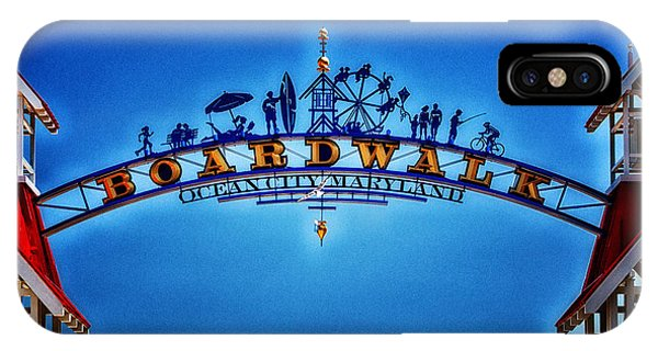 Boardwalk Arch In Ocean City IPhone Case