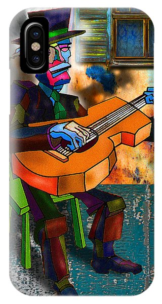 Boardwalk Bard IPhone Case