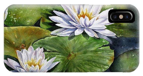 Boardwalk Lilies IPhone Case