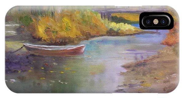 Boat And Bridge IPhone Case