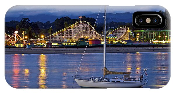Boat At Twilight IPhone Case