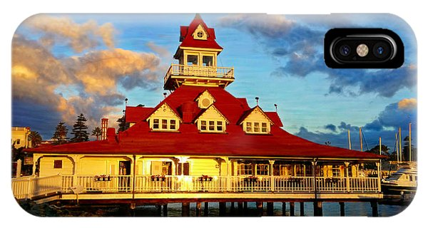 Boat House 1887 IPhone Case