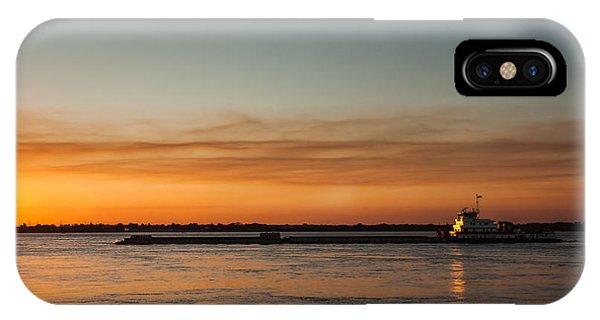 Boat In Sunset Phone Case by Carlos V Bidart