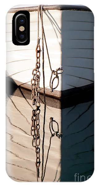 Boat Reflection IPhone Case