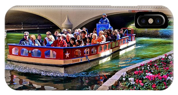 Boat Ride At The Riverwalk IPhone Case