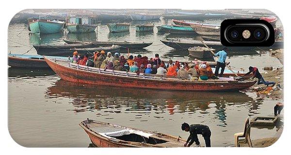 The Journey - Varanasi India IPhone Case