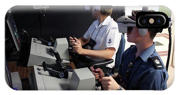 Boat Simulator Consoles IPhone Case