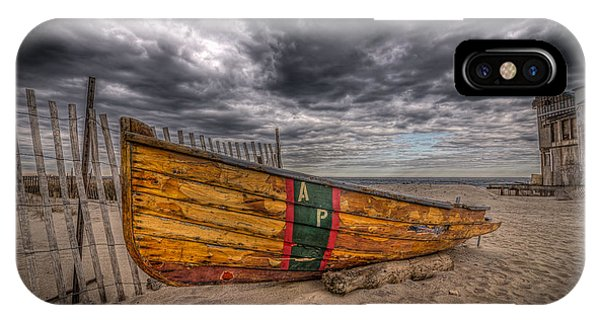Michael iPhone Case - Boat Wreckage by Michael Ver Sprill