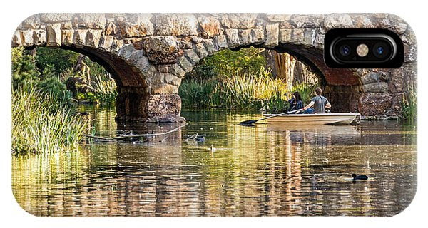 Boaters Under The Bridge IPhone Case