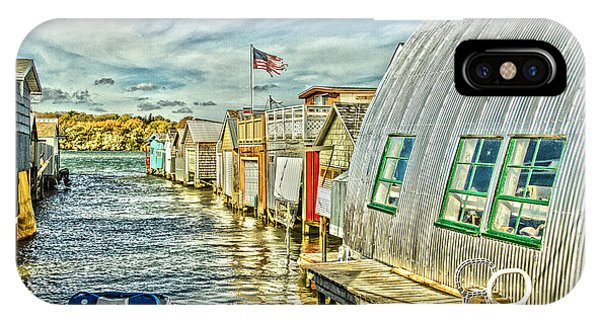 Boathouse Alley IPhone Case