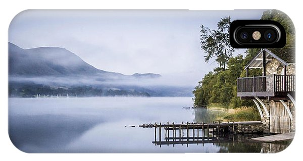 Boathouse At Pooley Bridge IPhone Case