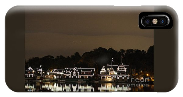 Boathouse Row IPhone Case