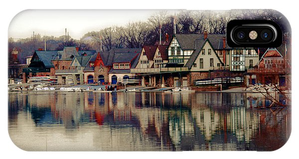 Temple iPhone Case - Boathouse Row Philadelphia by Tom Gari Gallery-Three-Photography