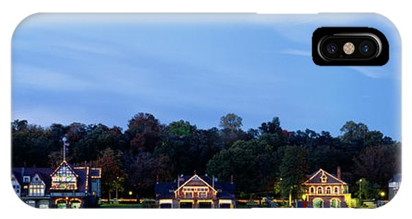 Boathouse Row Philadelphia Pennsylvania IPhone Case