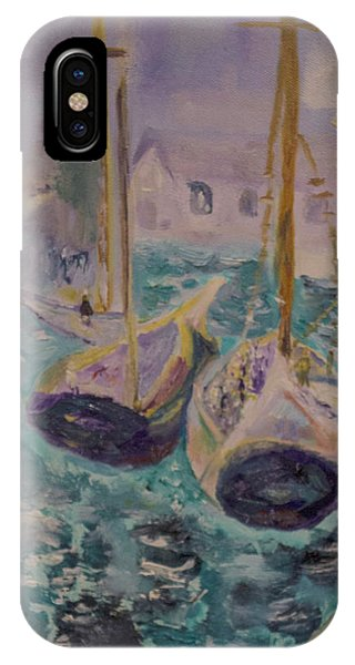 Boats At Sea IPhone Case
