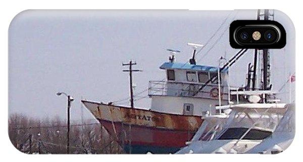 iPhone Case - Boats Docked by Pharris Art