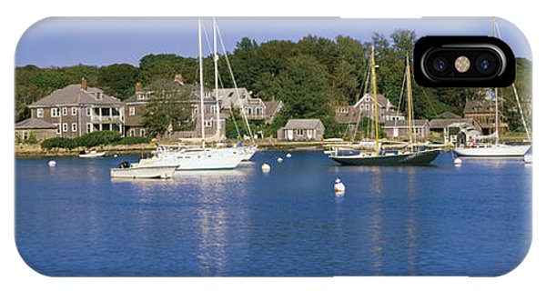 Cape Cod iPhone Case - Boats In An Ocean, Provincetown, Cape by Panoramic Images