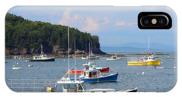Boats In Bar Harbor IPhone Case