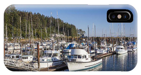 IPhone Case featuring the photograph Boats Moored At Charleston Marina by Bryan Mullennix