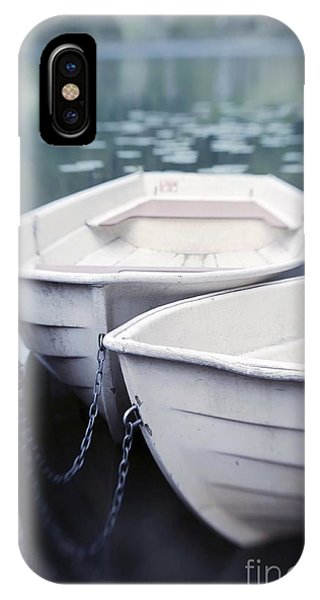 Boats iPhone Case - Boats by Priska Wettstein