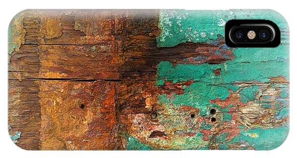 Boatyard Abstract 6 IPhone Case