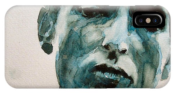 Bob Dylan iPhone Case - Bob Dylan by Paul Lovering