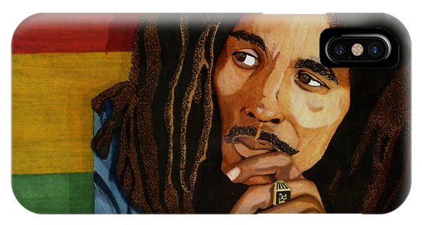 Bob Marley Legend IPhone Case
