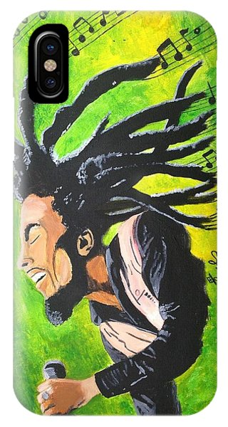 Bob Marley - One With The Music IPhone Case