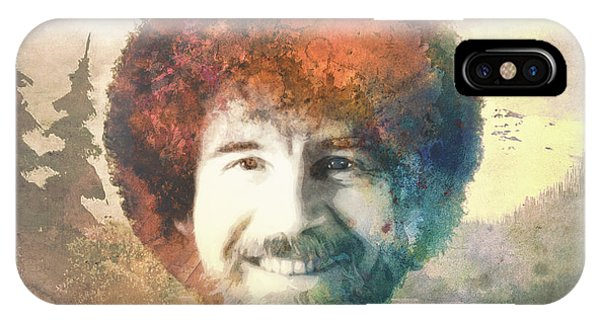 Bob Ross IPhone Case